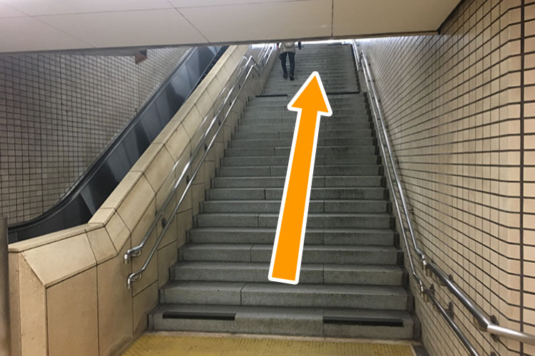 台原駅階段