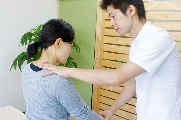 仙台ホリハ治療院 施術後の確認・セルフケア